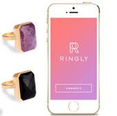 Ringly - nhẫn thông minh nhận tín hiệu thay điện thoại