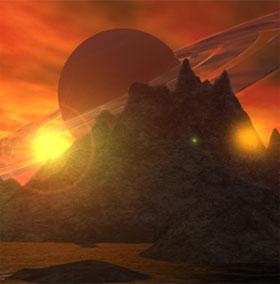 """Phát hiện vệ tinh sao Thổ có mùi giống """"chất thải của con người"""""""
