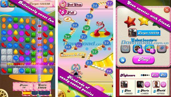 Top game dễ gây nghiện nhất trên iphone