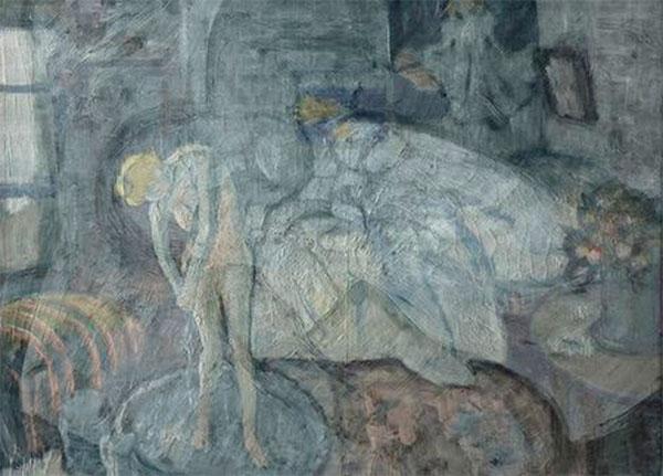 Người đàn ông bí ẩn trong bức tranh người phụ nữ đang tắm của Picasso