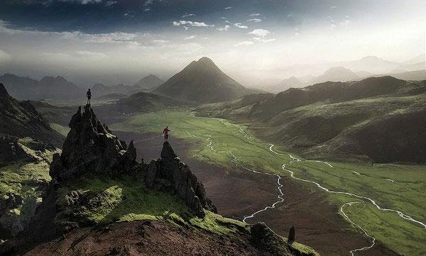 Xem vẻ đẹp hoang sơ mê hồn của thiên nhiên Iceland