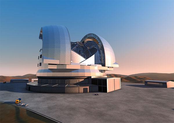 Chile khởi công xây dựng kính viễn vọng lớn nhất thế giới