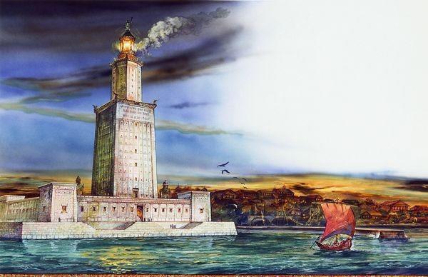 Ngọn hải đăng Alexandria (Ai Cập)
