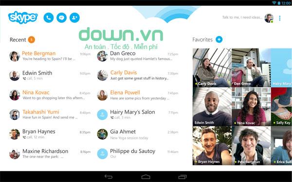 Top 5 ứng dụng chat phổ biến trên Android