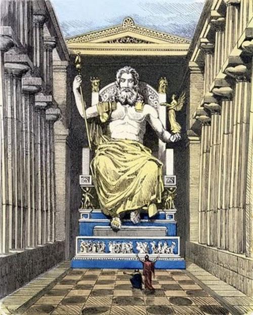 Tượng thần Zeus ở Olympia (Hy Lạp)