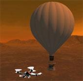 Đưa máy bay không người lái lên mặt trăng của sao Thổ