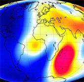 Cực từ Bắc của Trái đất đang... dịch chuyển