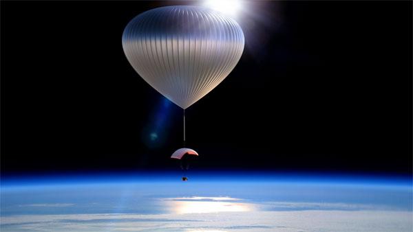 Du hành không gian với khinh khí cầu