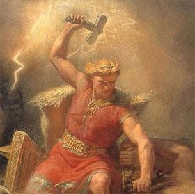 """Phát hiện mới về ký hiệu trên """"chiếc búa sấm sét của thần Thor"""""""