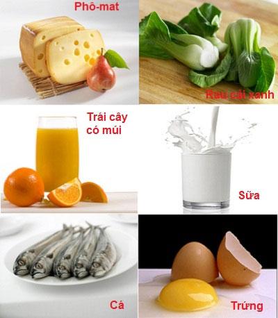 12 thực phẩm giúp tăng chiều cao