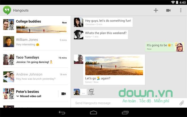 Tổng hợp phần mềm gọi video tốt nhất trên Android