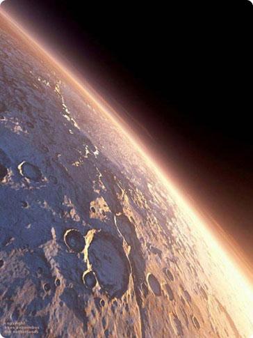 Kỳ ảo cảnh mặt trời mọc trên sao Hỏa