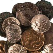 Kho báu tiền xu 2.000 năm tuổi