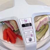 Máy đếm calo, đo chất béo cho bữa ăn