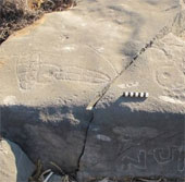 Phát hiện bức vẽ đồng tính trên đá 2.500 tuổi