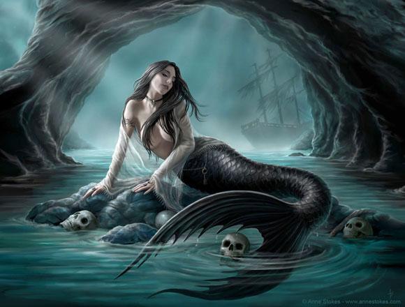 Người cá Siren – Bí ẩn huyền thoại của những người đi biển