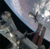 """Tàu Cygnus """"cập bến"""" trạm vũ trụ quốc tế"""