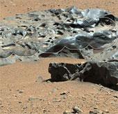 Tò Mò tìm thấy mẫu thiên thạch trên sao Hỏa