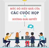 Mức độ hiệu quả của các cuộc họp và hướng giải quyết