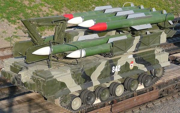 Những điều cần biết về tên lửa Buk