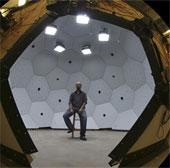 Hệ thống 480 camera nắm bắt chuyển động trong không gian