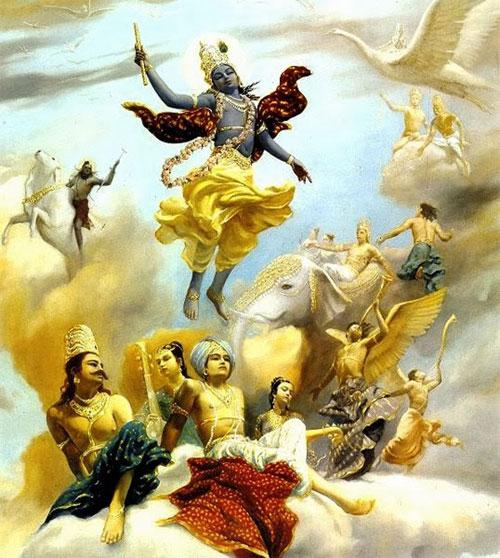 Số 7 trong quan niệm của những người theo đạo Hindu tượng trưng cho Trái đất