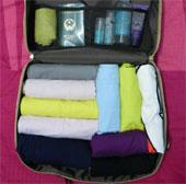 Mẹo xếp vali để mang được nhiều đồ