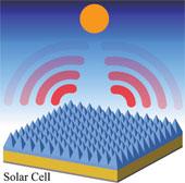 Tế bào quang điện tự làm mát để tăng hiệu suất