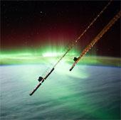 Ngắm cực quang huyền ảo trên trái đất từ vũ trụ