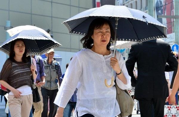15 người chết, hơn 8.000 người vào viện vì nắng nóng ở Nhật