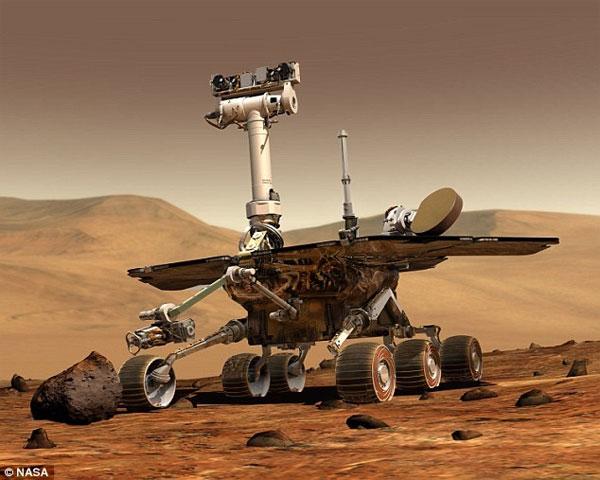 Tàu thăm dò không gian Opportunity của NASA lập kỷ lục mới
