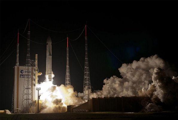 Châu Âu phóng tàu vận tải George Lemaitre lên ISS