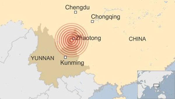 367 người chết trong động đất mạnh ở Trung Quốc