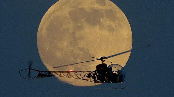 """11/8 đón xem """"siêu trăng"""" gần nhất"""