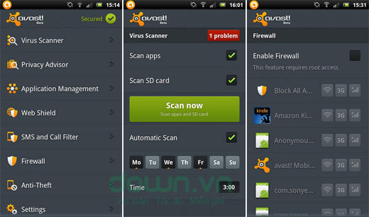 Những ứng dụng trong điện thoại Android mới (P1)