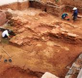 Phát lộ di tích Chăm nghìn tuổi tại Đà Nẵng