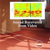 Trích xuất âm thanh từ rung động của các vật thể