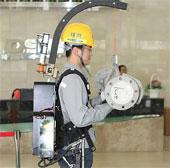 Tăng sức mạnh cho công nhân bằng bộ giáp robot