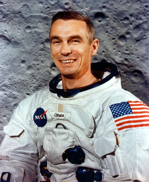Người cuối cùng đặt chân lên Mặt Trăng