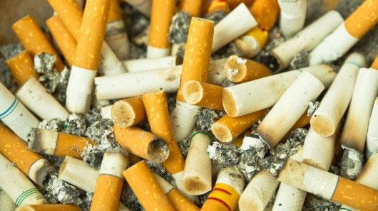 Biến mẩu đầu lọc thuốc lá thành pin điện thoại