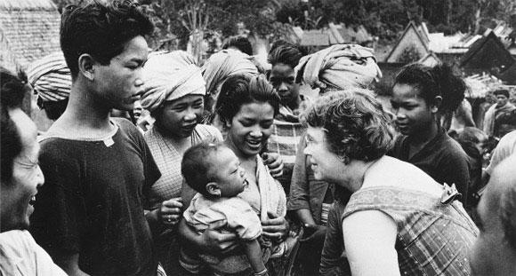 Nhà nhân chủng học Margaret Mead tin vào sức mạnh tâm linh