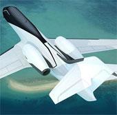 Video: Máy bay không cửa sổ tạo góc nhìn siêu rộng