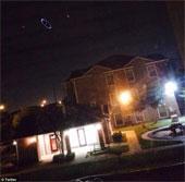 Vòng tròn ánh sáng bí ẩn xuất hiện trên bầu trời Mỹ