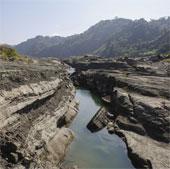 Hẻm núi Đài Loan đột ngột xuất hiện, biến mất nhanh kỷ lục