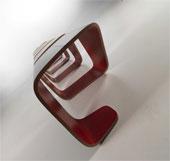 Độc đáo ghế băng chờ có mô hình phân tử ADN