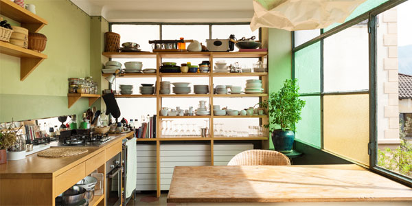 Diệt muỗi trong nhà bếp