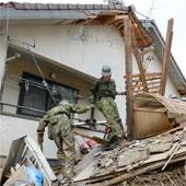 Gần 50 người thiệt mạng và mất tích trong vụ lở đất ở Nhật Bản