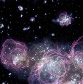 Phát hiện dấu vết ngôi sao đầu tiên của vũ trụ