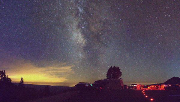 Làm thế nào để nhìn thấy dải Ngân hà?