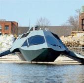 """Mỹ khoe siêu hạm tàng hình mang biệt danh """"con ma"""""""